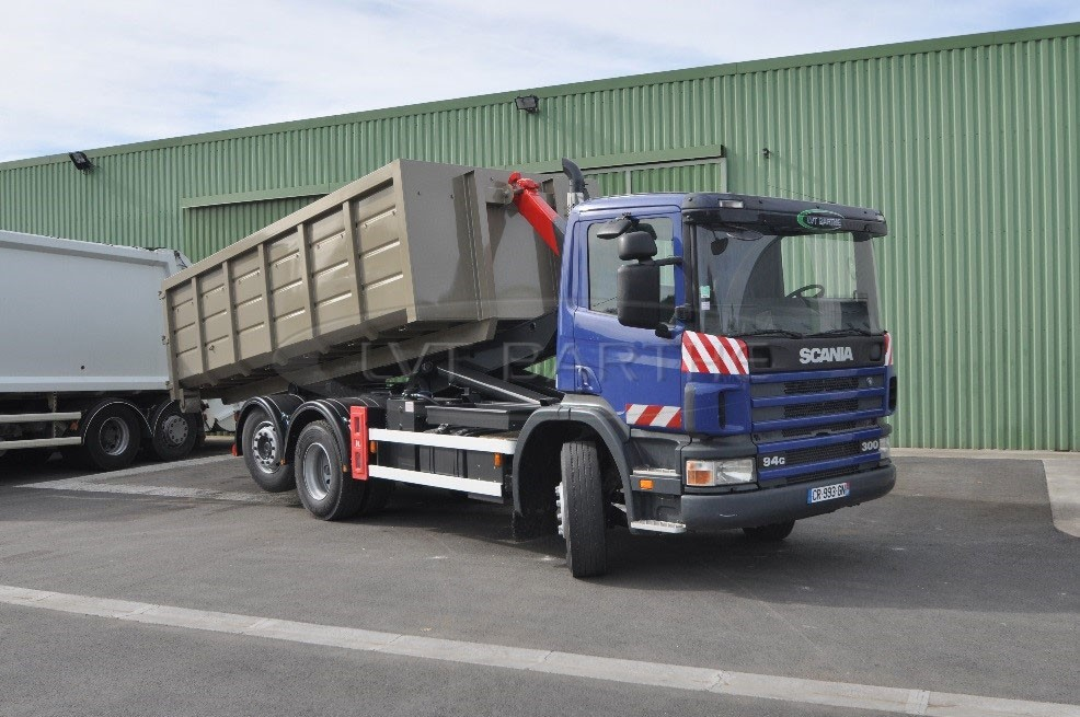Location polybenne Scania 94 G