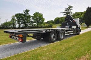Carrosserie Scania grue Hiab 228