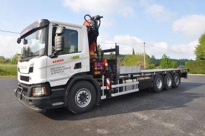 Carrosserie Scania tridem