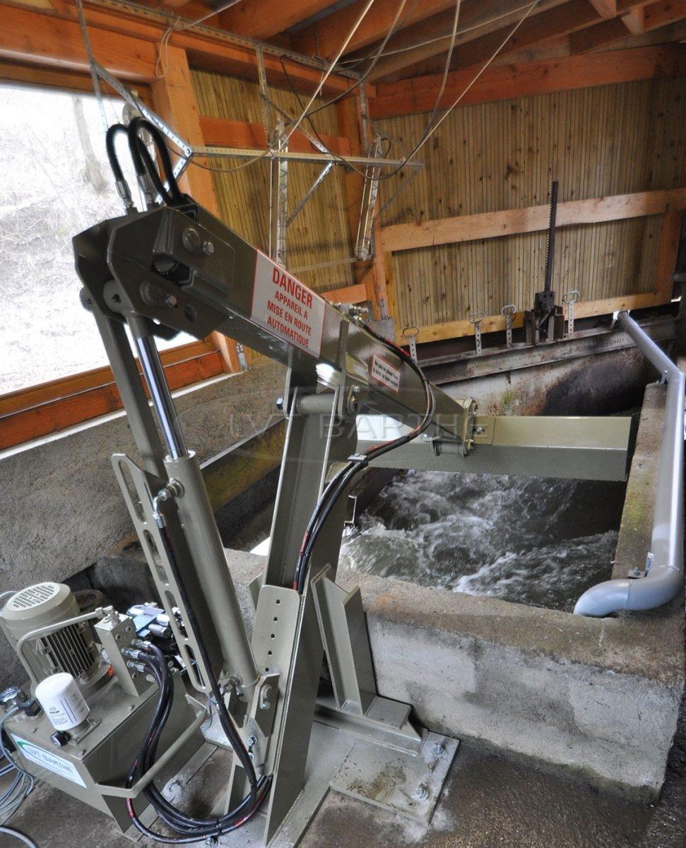 Dégrilleur hydraulique
