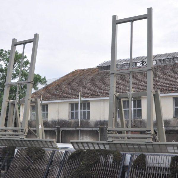Dégrilleurs fixes télescopiques en Charente