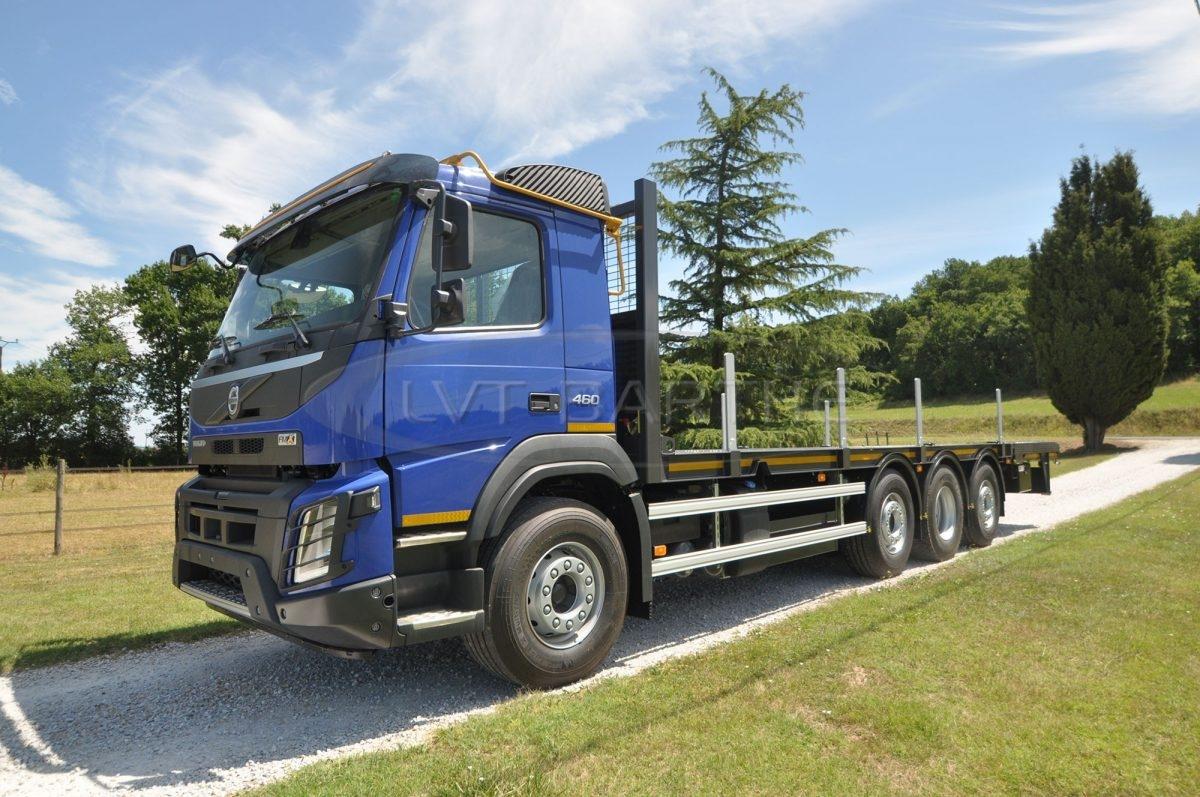 Réalisation carrosserie FMX Volvo