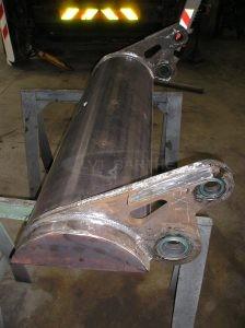 Réalisation d'une pelle en acier