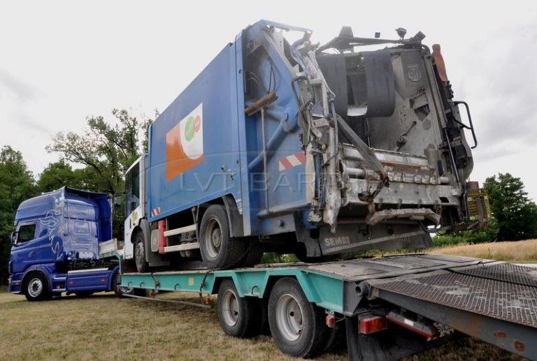 Transport BOM accidentée